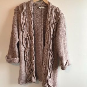 Hinge Nordstrom chunky knit cardigan sweater